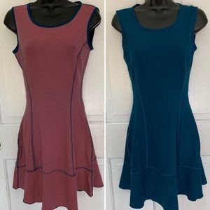 Two Dresses in one! Reversible microfiber dress